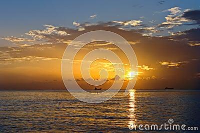Sunrise, Atlantic ocean coast