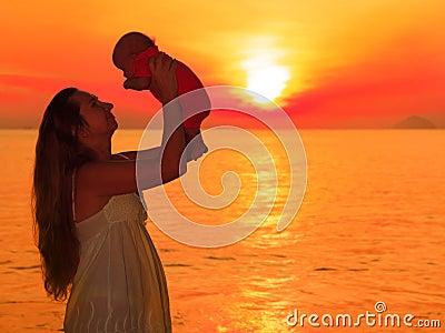 Sunrise baby
