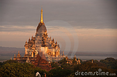 Sunrise, Bagan, Myanmar