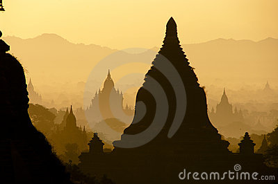Sunrise, Bagan, Myanmar
