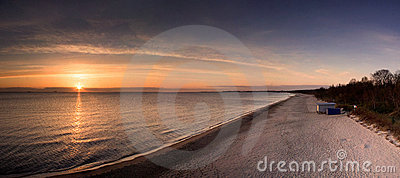 Sunrise on Baltic Sea