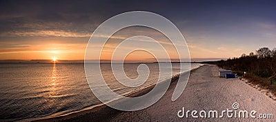 Sunrise on Baltic Sea