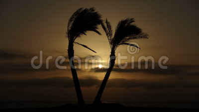 Sunrise on the beach - Red Sea - Time Lapse. Sunrise and clouds on the beach - Red Sea - Time Lapse stock footage