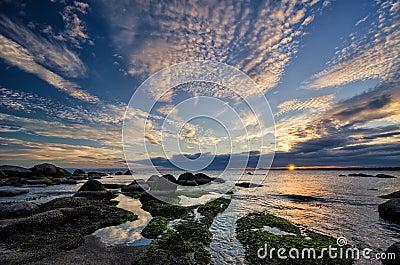 Sunrise in Burgas Bay