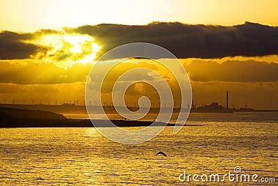 Sunrise on Canary island