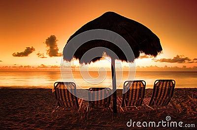 Sunrise at the Caribbean