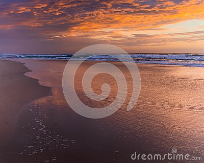 Sunrise Clouds Stock Photo