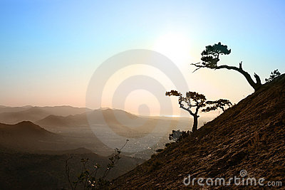 Sunrise in Crimea
