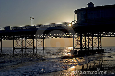 Sunrise, Cromer Pier