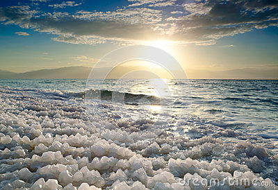 Sunrise at Dead Sea, Israel