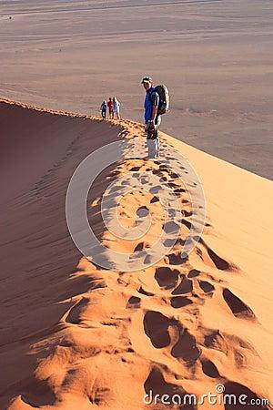 Sunrise at dune 45 Editorial Stock Photo