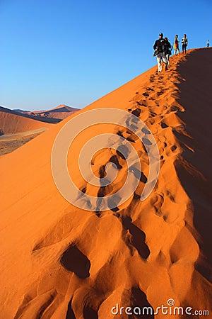 Sunrise at dune 45 Editorial Image