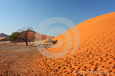 Sunrise at dune 45 Editorial Stock Image