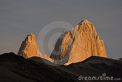 Sunrise at Fitz-Roy