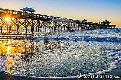 Sunrise, Folly Pier SC