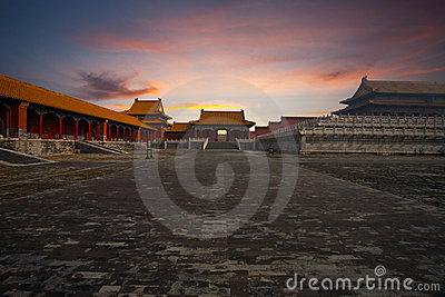Sunrise Gate Forbidden City Supreme Harmony