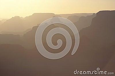 Sunrise on Grand Canyon, USA