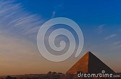 Sunrise at Great Pyramid of Giza