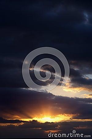 Sunrise in Haleakala Park.