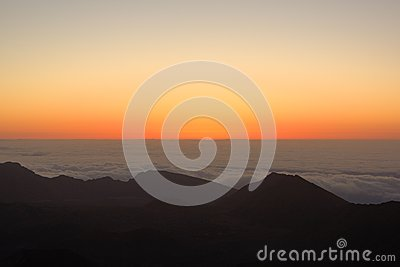 Sunrise from Haleakala