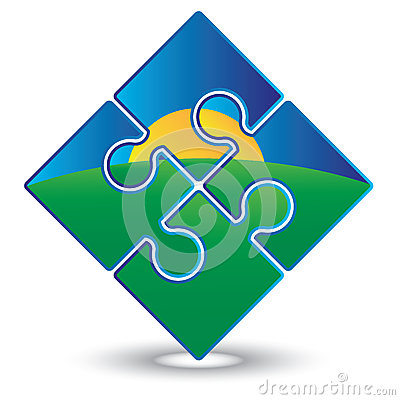Free Sunrise Jigsaw Puzzle Stock Images - 25016514