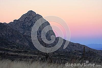 Sunrise in Madera Canyon