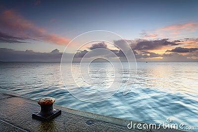 Sunrise at Mevagissey