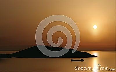 Sunrise at Mirabello Bay