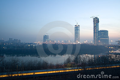 Sunrise at Moscow