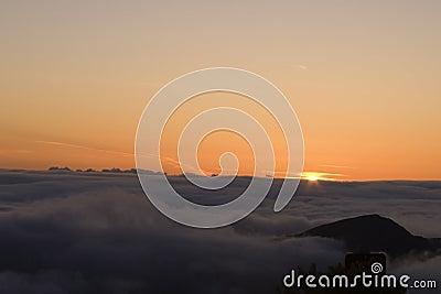 Sunrise At Mount Haleakala Maui