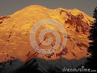 Sunrise Mount Rainier