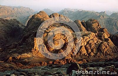 Sunrise at Mount Sinai, Egypt
