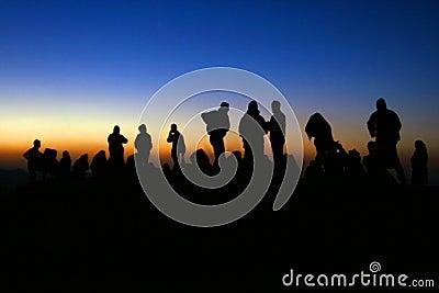 Sunrise at Mt Nemrut