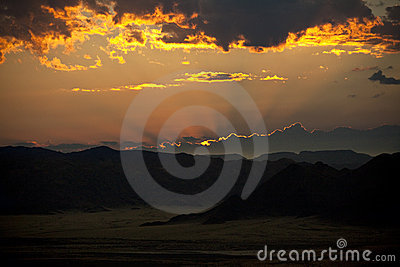 Sunrise - Namibia