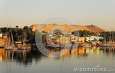 Sunrise on the Nile in Aswan