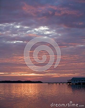 Sunrise in Oak Hill Florida