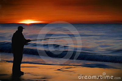 Sunrise Ocean Fishing