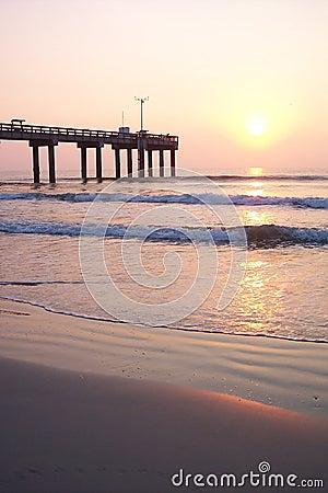 Sunrise at Ocean Pier