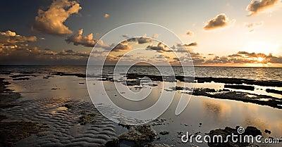 Sunrise off Florida Coast