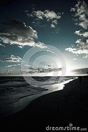 Free Sunrise On Beach Royalty Free Stock Image - 8318746