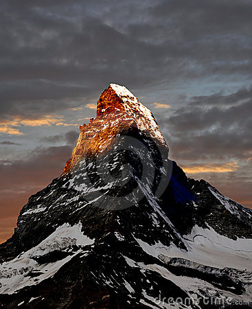 Free Sunrise On The Matterhorn Stock Photos - 17416283