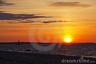 Sunrise at Orient Point