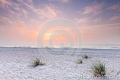 Sunrise over atlantic ocean in south florida