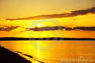 Sunrise over Chesapeake Bay