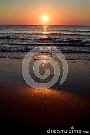 Sunrise over Shore