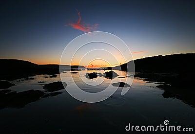 Sunrise over Start Point Devon