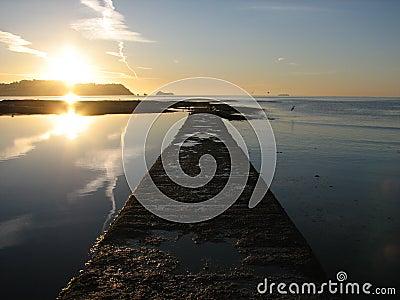 Sunrise over Torbay