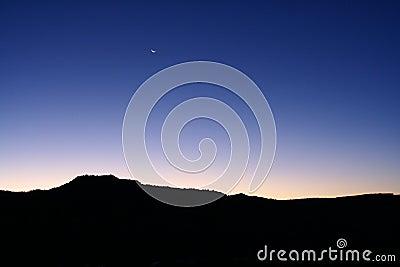 Sunrise at Palo Duro Canyon