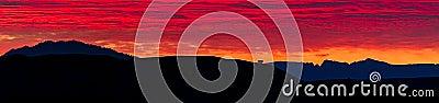 Sunrise Panorama in Grand Teton National Park