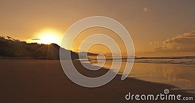 Sunrise at Playa Dominical